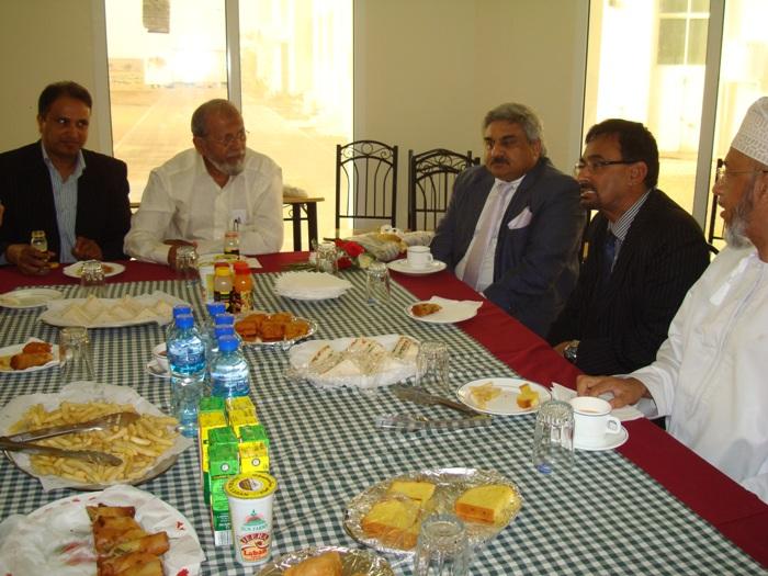 with anil wadhwa, indian ambassador to Oman
